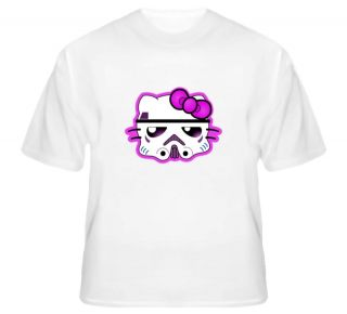 Hello Kitty Style   Pink StormTrooper Helmet