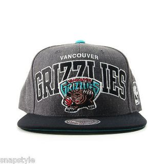 NBA VANCOUVER GRIZZLIES SNAPBACK MITCHELL & NESS Heather Two Tone Hat