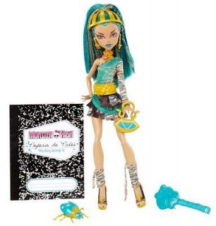Monster High Nefera de Nile Doll NEW
