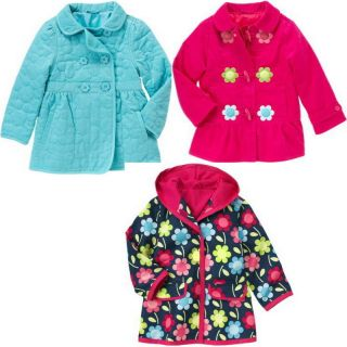 SMART AND SWEET Jacket Fall Winter Kid Girl Baby Children Rain Coat