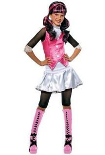 Brand New Child Monster High Draculaura Halloween Costume 884787