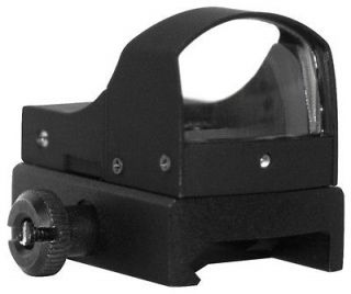 Dot Reflex Scope Sight Fits Ruger Tactical 10/22 Mossberg .22 Rifles
