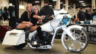 26 Inch Chrome Custom Motorcycle Wheel Rim 4 Harley Bagger Touring