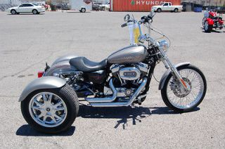 2007 XL1200C Harley Davidson Sportster Trike 11836A Pewter Pearl