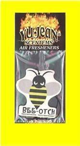 BEE OTCH AIR FRESHENER BEEOTCH TRANSFORMERS BUMBLEBEE CHEVY CAMARO