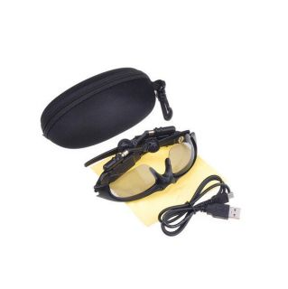 Hot 2GB 2G SunGlasses Sun Glass With Headset  Music Player