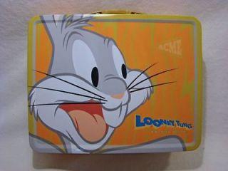 Looney Tunes BUGS BUNNY Mini Tin Lunch Box NEW