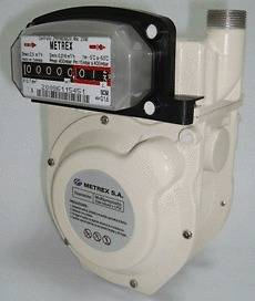 Gas Meter Compact Propane Natural Gas Ideal for Labs or SUBMETER