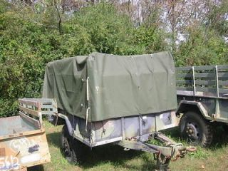 M105A2 Military Surplus Utility Cargo Trailer 7x9 Bed ****NO RESERVE