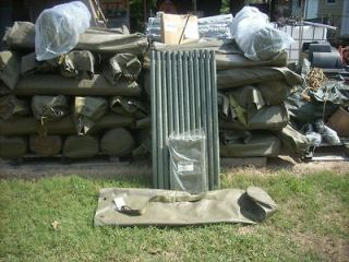 Military Camo Camouflage Net Support System 12 Fiberglass poles