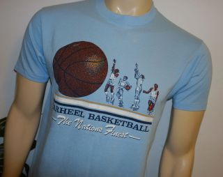 1983 MICHAEL JORDAN* vtg university north carolina shirt (L) 80s UNC