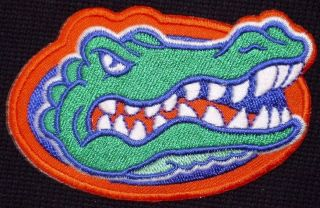 OF FLORIDA UF GATORS NCAA CLASSIC LOGO IRON ON PATCH MADE IN USA