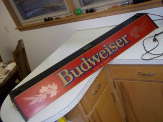 Vintage or OLDER Large (50) Budwieser Pool Table Light   ONLY ONE ON
