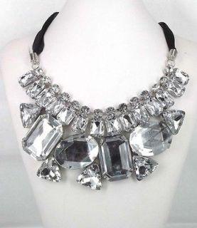 rhinestone bib necklaces in Necklaces & Pendants