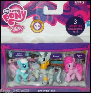 My Little Pony* FRIENDSHIP IS MAGIC SPA PONY SET  Lotus Blossom
