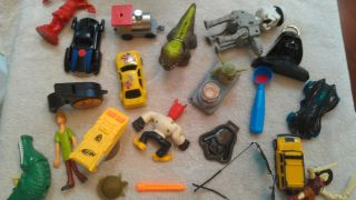 Toy mixed lot Nerf McDonalds Scooby Doo Disney more T 3