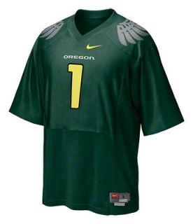 new adult XL nike oregon ducks football #1 jersey/Shirt josh huff sewn