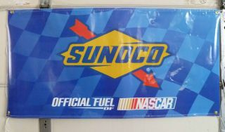 10) SUNOCO OFFICIAL FUEL OF NASCAR RACING DECALS STICKERS (SUNOCO 260