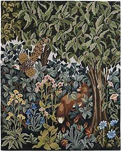 Beth Russell Greenery Fox Tapestry Needlepoint Kit
