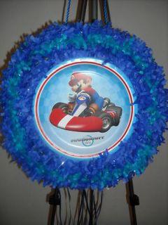 Wii Mario Kart Pull String Pinata