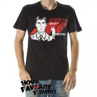 Archer FX TV Show The Isis Ultimate Spy Licensed Adult T Shirt S 2XL