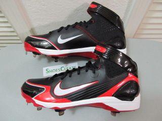 90 Nike Air Huarache LWP90 Metal Sz 13.5 Mens Baseball Cleats New