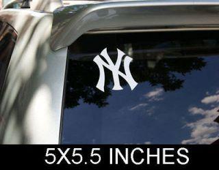 NEW YORK YANKEES LOGO CAR TRUCK WINDOW DECAL STICKER