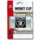 NFL Football Oakland Raiders Metal Money Clip With Hand Painted 3D