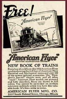 american flyer trains in Collectibles