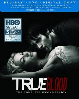 True Blood The Complete Second Season Blu ray Disc, 2012, 7 Disc Set