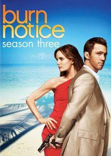 Burn Notice Season Three DVD, 2010, 4 Disc Set
