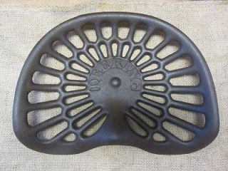 Vintage Milwaukee Cast Iron Tractor Seat Antique Farm Tools