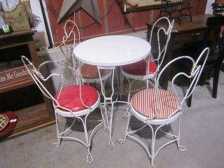 antique ice cream table in Dining Sets