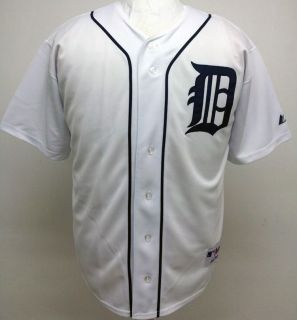2012 New Detroit Tigers BLANK Home Sewn Jersey High Quality Mens 6