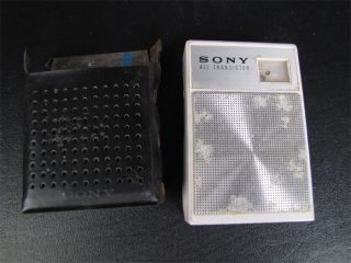 Vintage Sony AM All Transistor Pocket Radio Model 2R 28