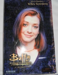 Buffy the Vampire Slayer Sideshow WILLOW figure Alyson Hannigan NEW