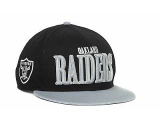 New Era NFL Oakland Raiders Logo Through 9Fifty Snapback Adjustible