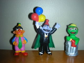 Street Jim Henson Applause Character Cake Toppers Figures Oscar Count