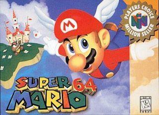Super Mario 64 (Nintendo 64, 1996) Cartridge Only