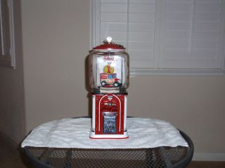 Vintage Victor Coca Cola Themed Gumball,Nut,Candy,Soda Vending Machine
