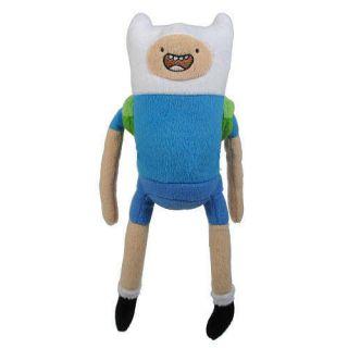 Adventure Time Finn & Jake   FINN Plush Figure Toy w Tags NWT Cartoon