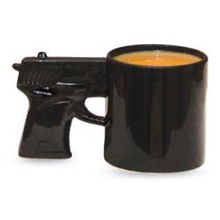 Toys Gun Mug Tea Coffee Cup Plant Pot Pet Dish Candy Funny Gift NEW