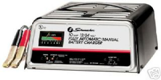 Schumacer 10 Amp Auto Deep Cycle Battery Charger
