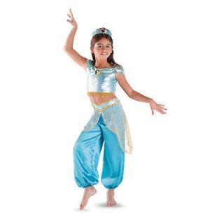 Princess Jasmine Classic Halloween Costume   Child Size Medium 7 8