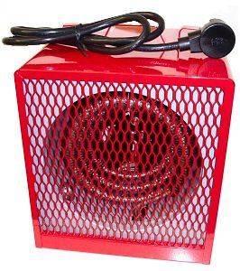Electric Portable Garage Shop Heater w 19 000 BTUs Utility Shed Unit
