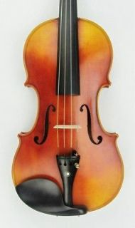 Masterr 4/4 violin Labeled Antonio Stradivarius 1718 One Piece Back