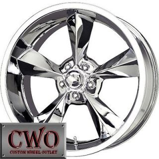 20 Chrome MB Old School Wheels Rims 5x114.3 5 Lug Jeep Wrangler Ranger