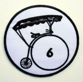 THE PRISONER TV Series Patrick McGoohan Number 6 Embroidered Village