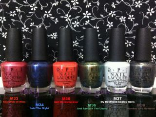 OPI Nail Polish Lacquer SPIDER MAN COLLECTION Various Colors Full Size