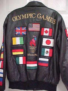 VTG 90s United States USA Olympics STARTER Jacket M Medium 1996